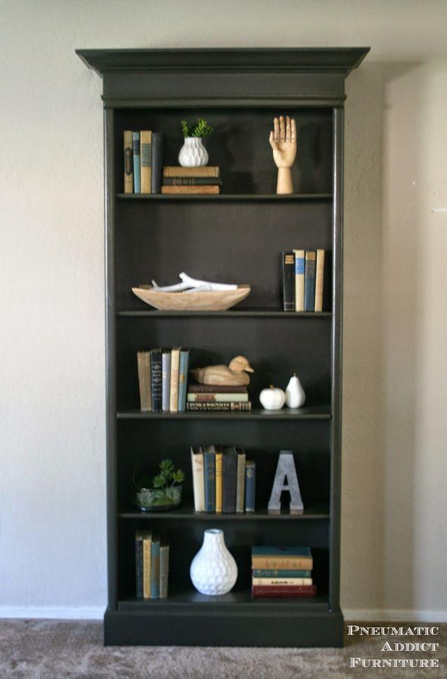 Farmhouse Bookshelf With Doors