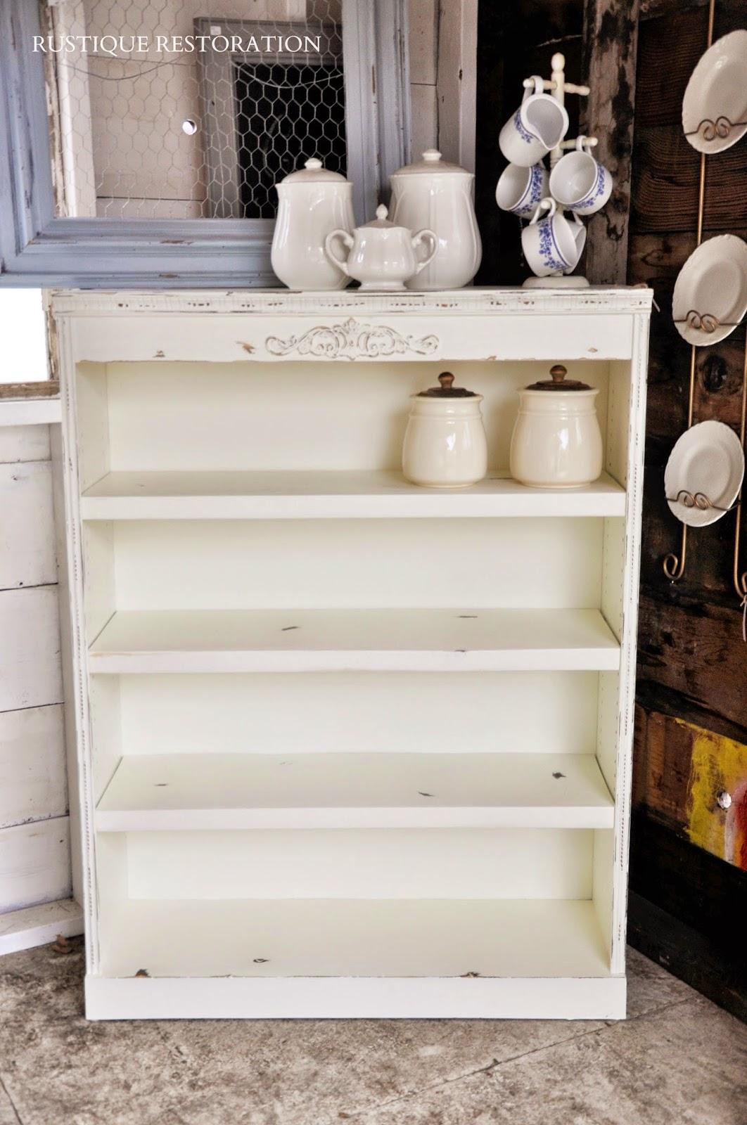 Farmhouse Bookshelf Decor Diy