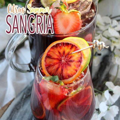 Citrus Summer Sangria