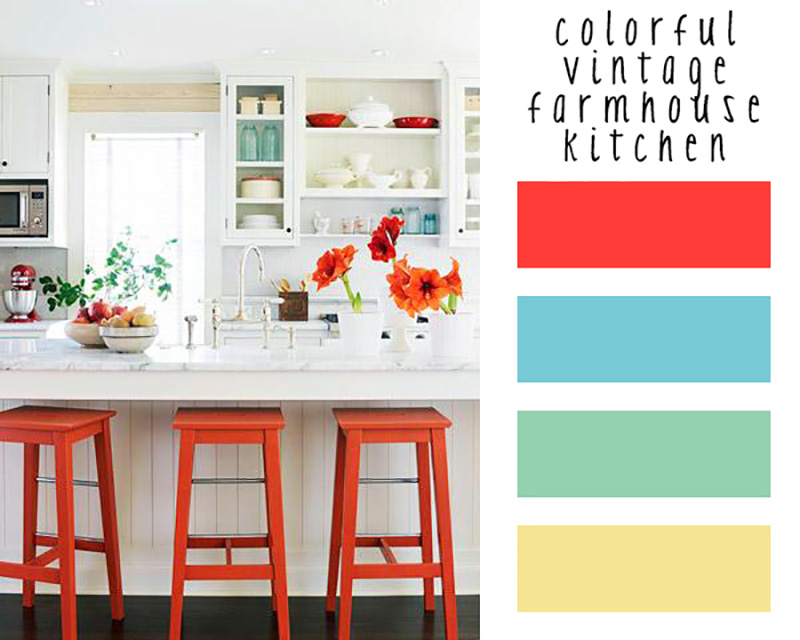 How To Add Color To Your Farmhouse With Ease