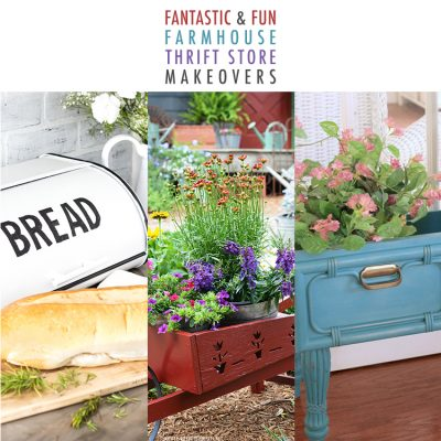Fantastic and Fun Farmhouse Thrift Store Makeovers