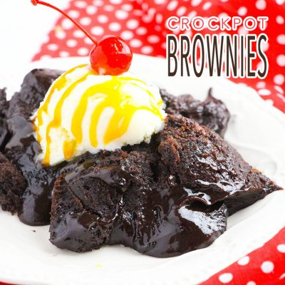 Crazy Easy Crock-Pot Brownies
