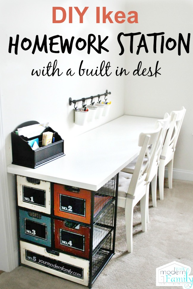 This Homework Station Turntable Is Fabulous And So Easy To Create Visit Mom On Time Out She Will Fill You In