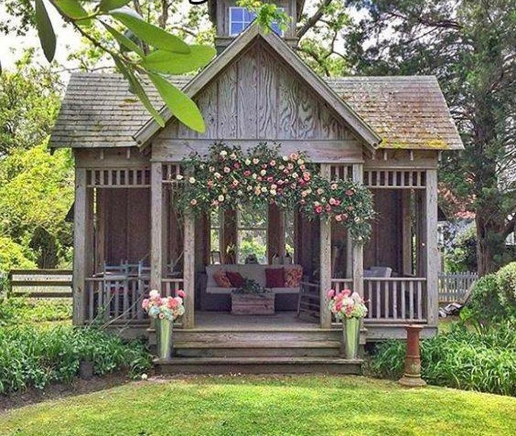 She needs a she shed with fixer upper farmhouse flair for Garden shed fixer upper