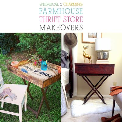 Whimsical and Charming Farmhouse Thrift Store Makeovers