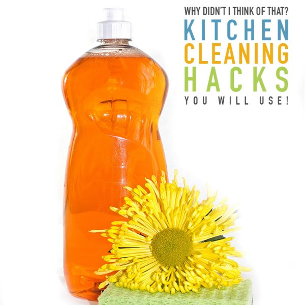 Why Didn't I Think of That? Kitchen Cleaning Hacks You Will Use!
