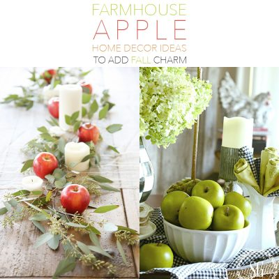 Farmhouse Apple Home Decor Ideas to add Fall Charm