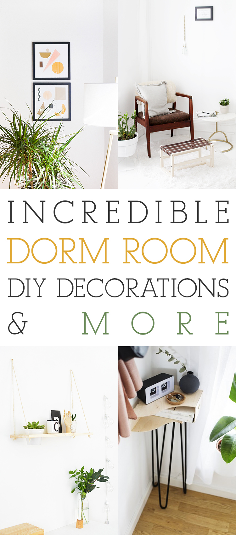 incredible dorm room diy decorations and more the cottage market
