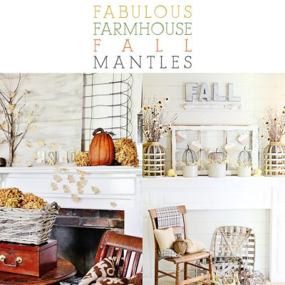 Fabulous Farmhouse Fall Mantels