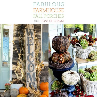 Fabulous Farmhouse Fall Porches With Tons Of Charm