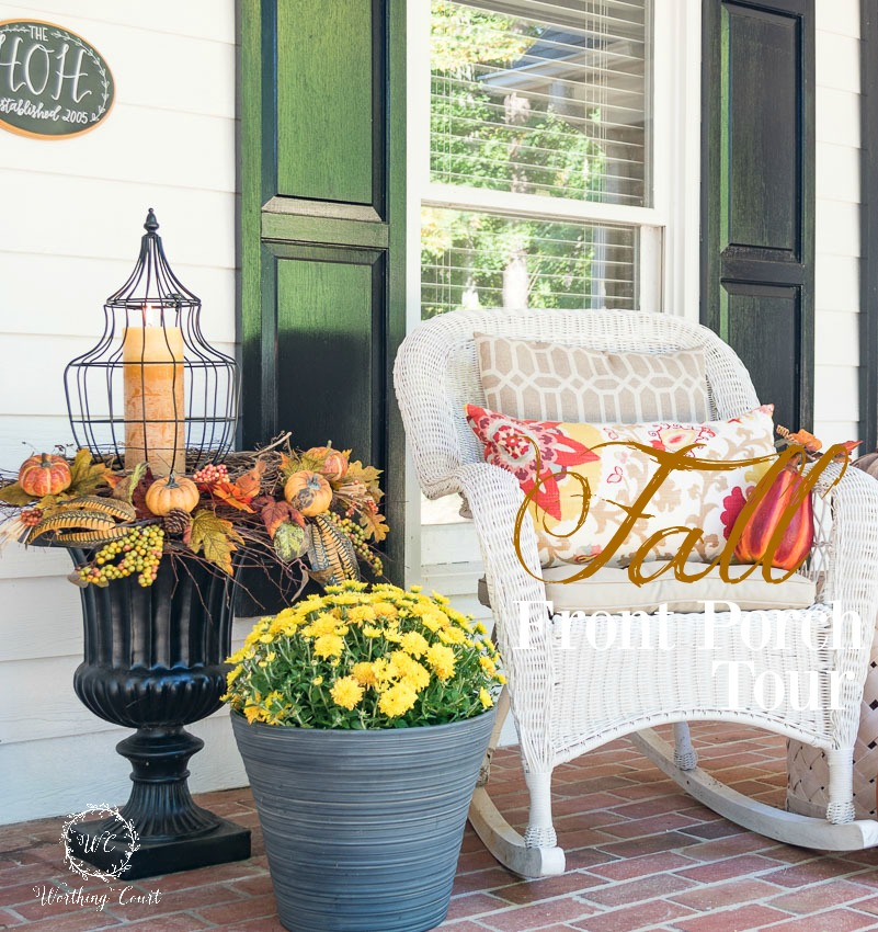 Fall Front Porch: Fabulous Farmhouse Fall Porches With Tons Of Charm
