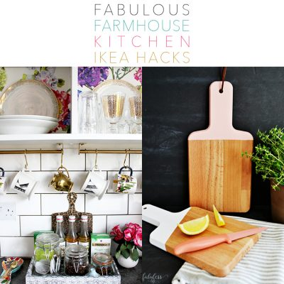 Fabulous Farmhouse Kitchen IKEA Hacks