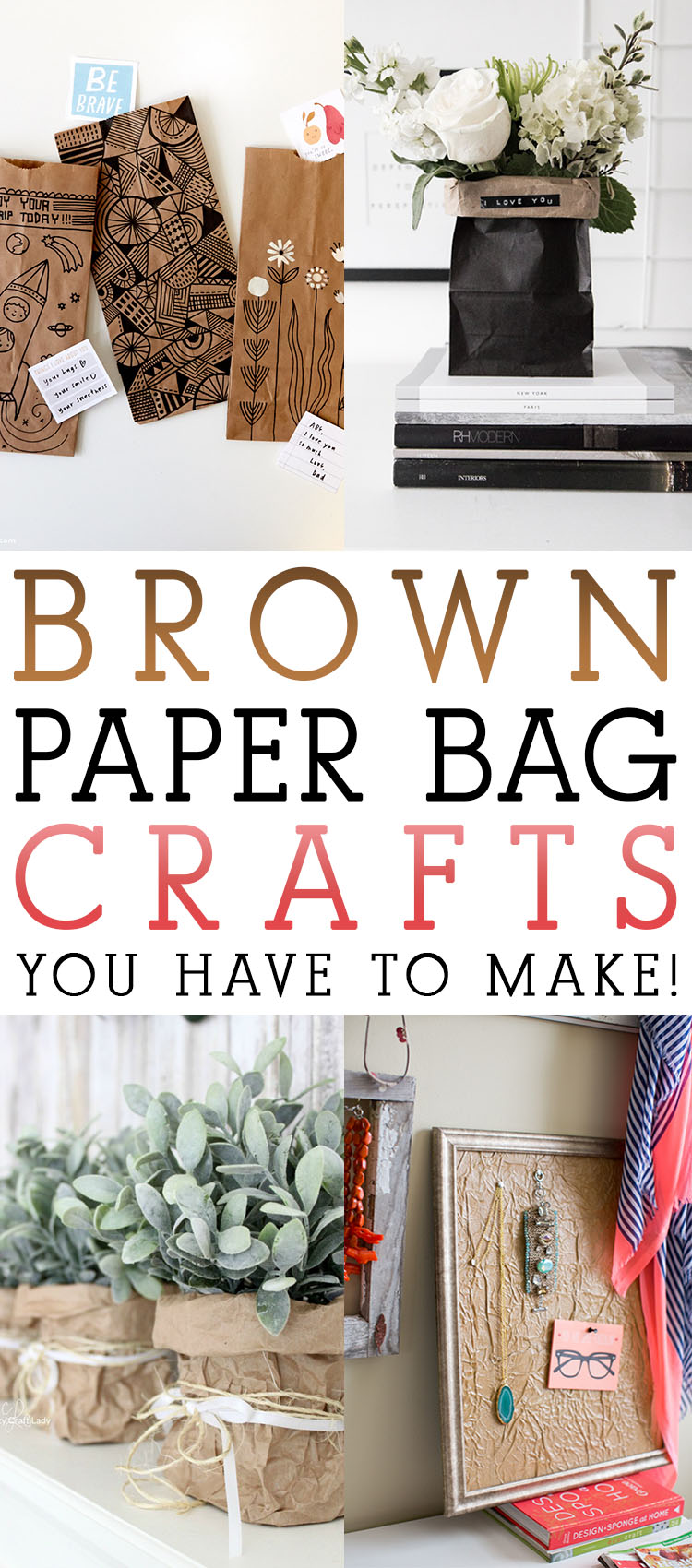 Brown paper bag crafts you have to make the cottage market for Brown paper bag crafts for toddlers