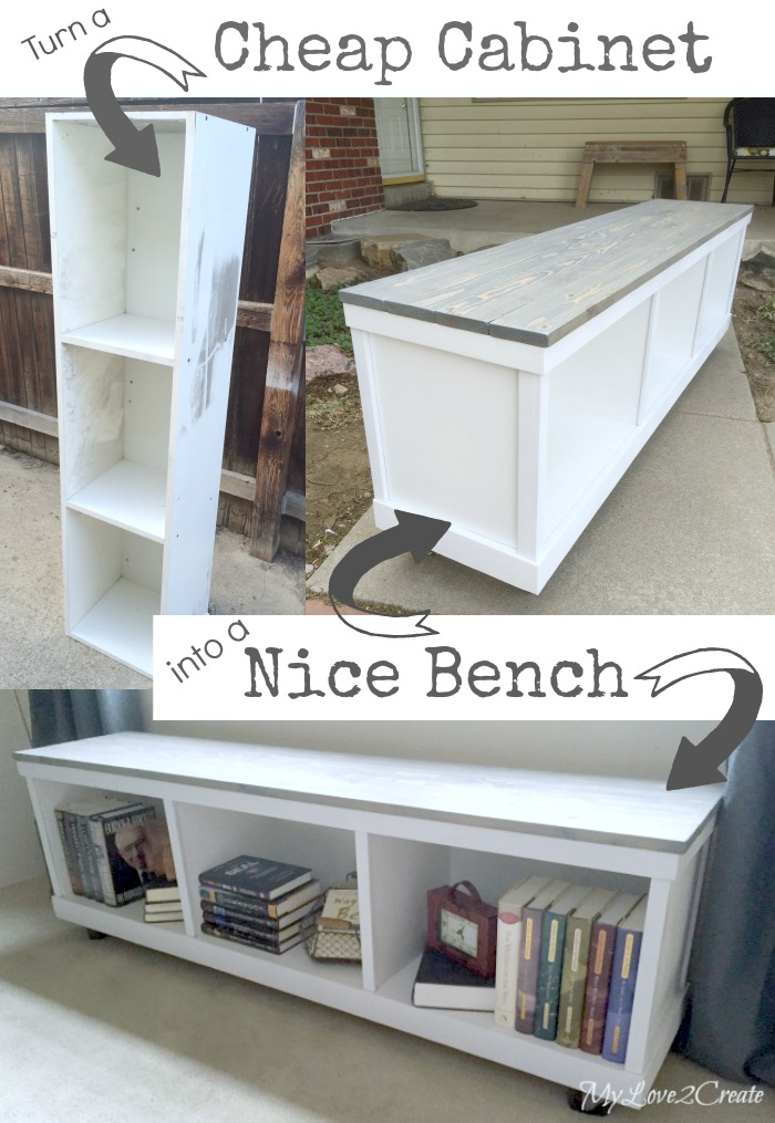 Do You Know What Can With 2 Bookshelves A Great Craft Table Diy Is Waiting For Over At The Owner Builder Network