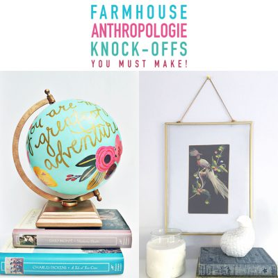 Farmhouse Anthropologie Knock-offs You Need To Make!