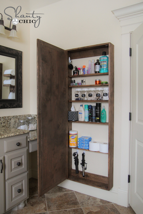 Charming Farmhouse Bathroom Storage DIYS - The Cottage Market
