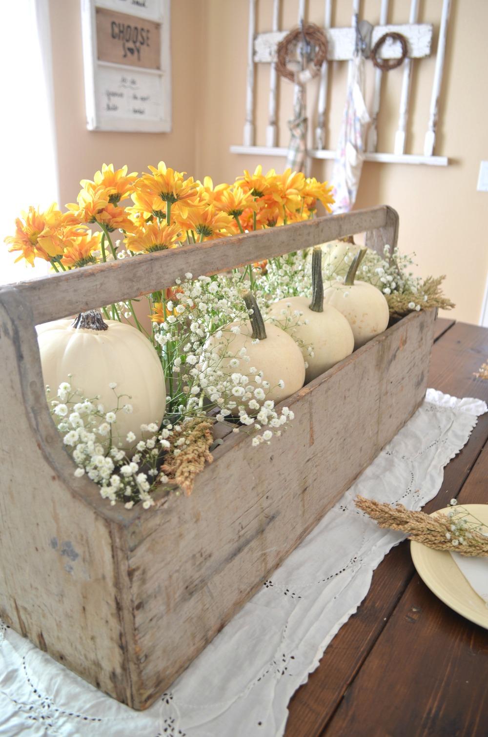 Fabulous fall farmhouse centerpieces the cottage market