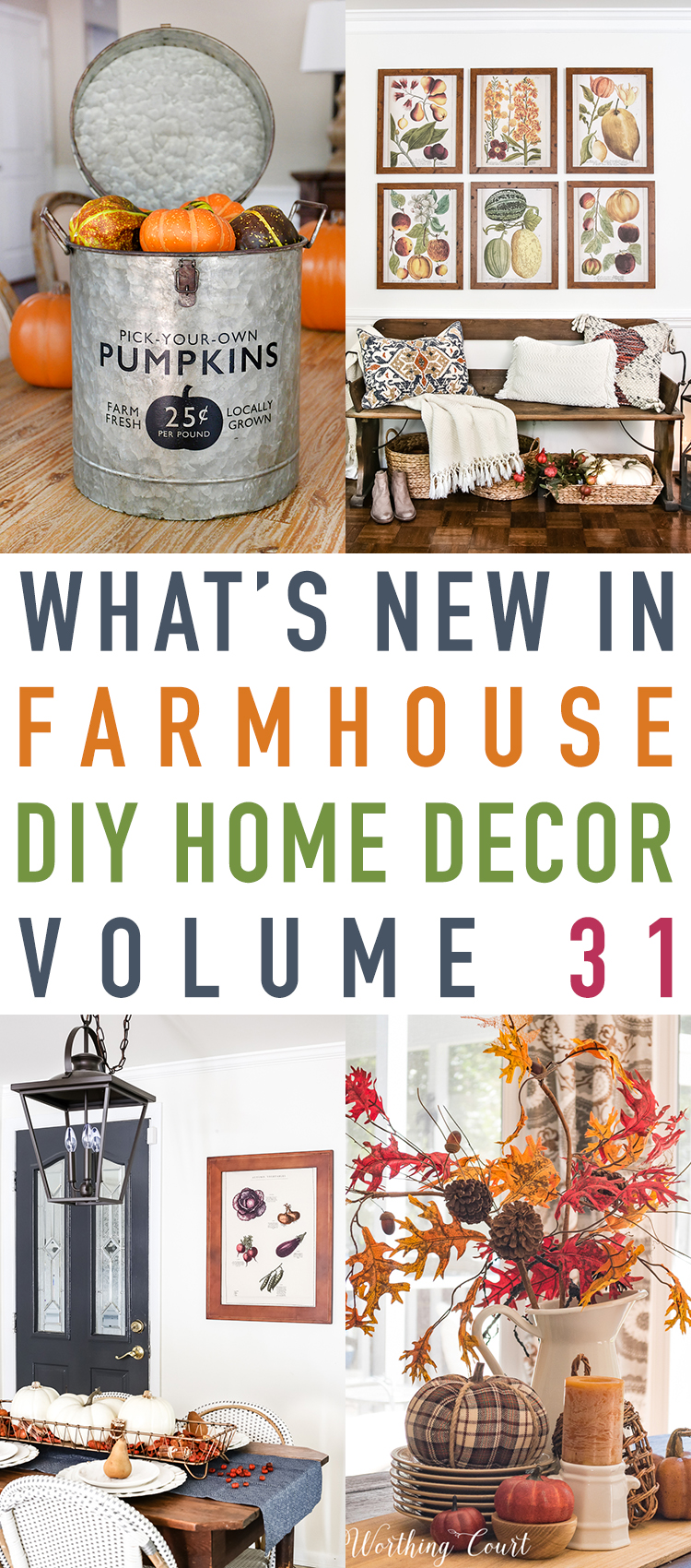 What S New In Farmhouse Diy Home Decor Projects Vol 31 The Cottage Market