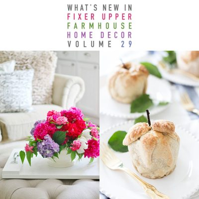 What's New In Fixer Upper Farmhouse Home Decor Volume 29