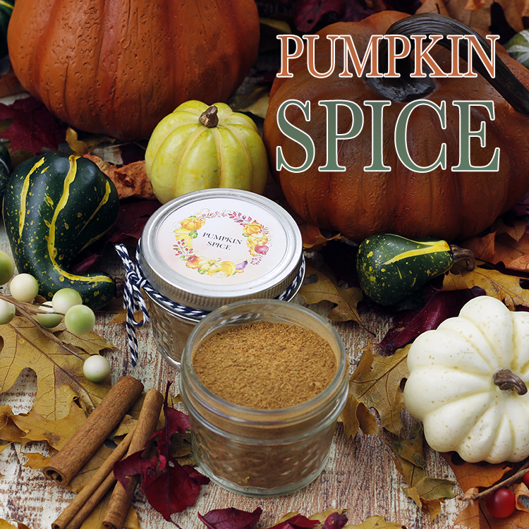 Pumpkin Spice Recipe With Free Printable Labels The