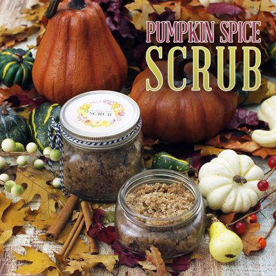 Quick and Easy Pumpkin Spice Scrub
