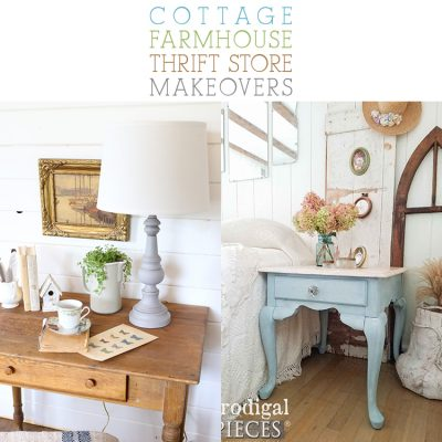 Cottage Farmhouse Thrift Store Makeovers