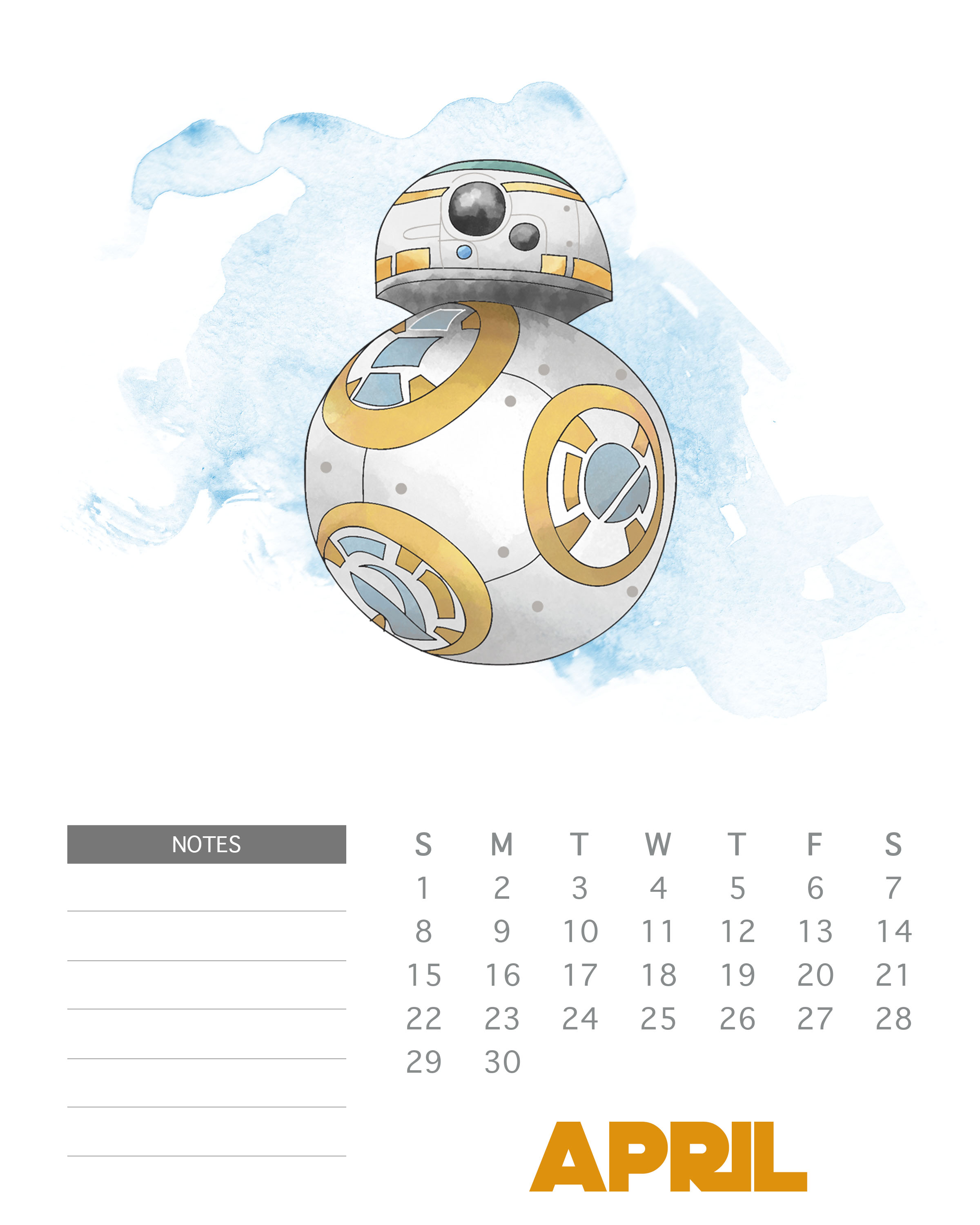 printable star wars calendar may 2018