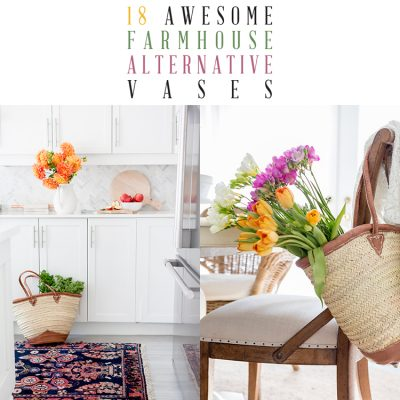 18 Awesome Farmhouse Alternative Vases