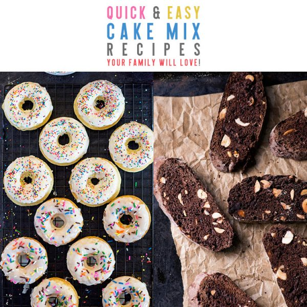 Quick and Easy Cake Mix Recipes Your Family Will Love