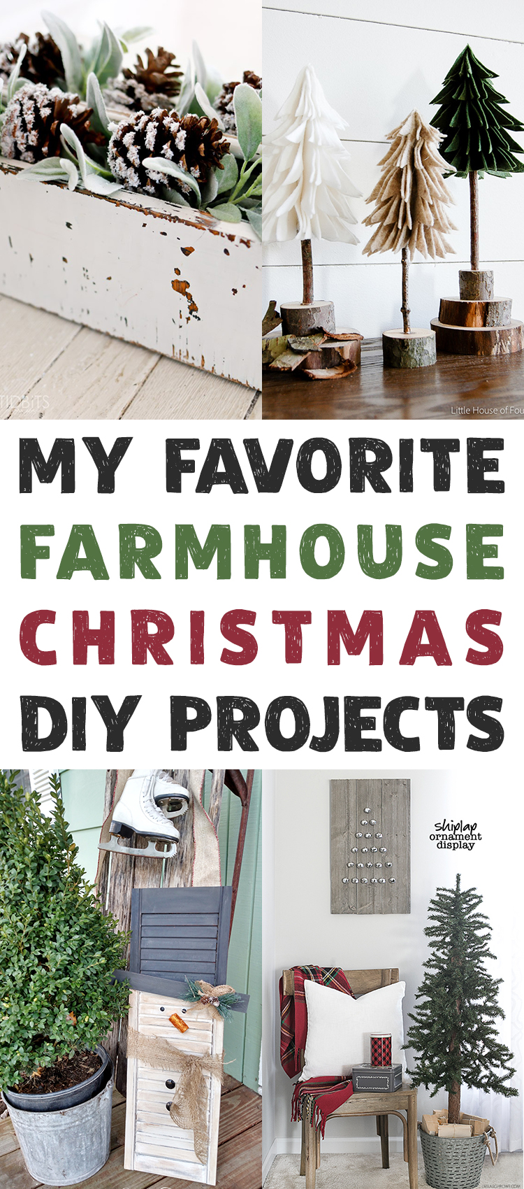 My Favorite Farmhouse Christmas DIY Projects