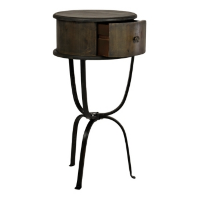 I Absolutely Adore This Industrial Farmhouse Style Side Table. It Can Be  Used In So Many Different Rooms. I Would Love It In The Living Room And  Store My ...