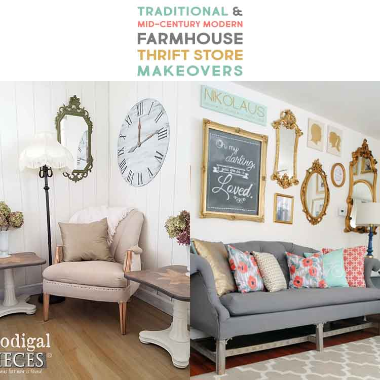 Traditional And Mid Century Modern Farmhouse Thrift Store