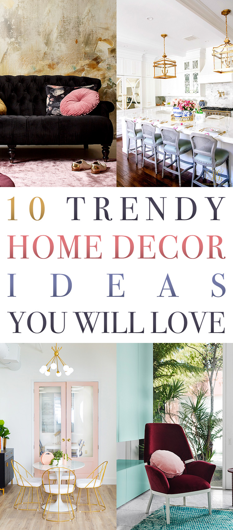From Trendy Velvet Sofau0027s To The Trending New Colors Of 2018 To Before And  After Room Makeover And More! Grab That Cup Of Your Favorite Brew And Put  Those ...