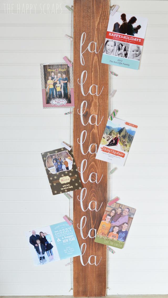 Wonderful Farmhouse Christmas DIY Card Holders - The Cottage Market