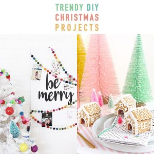Trendy DIY Christmas Projects