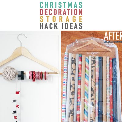 Christmas Decoration Storage Hack Ideas
