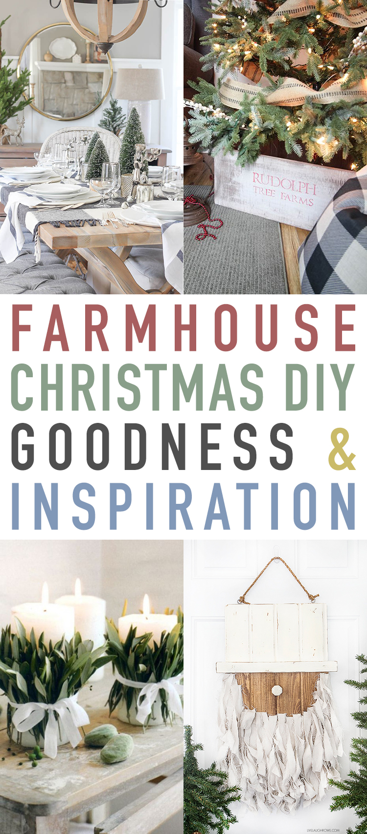 Farmhouse Christmas DIY Goodness and Inspiration