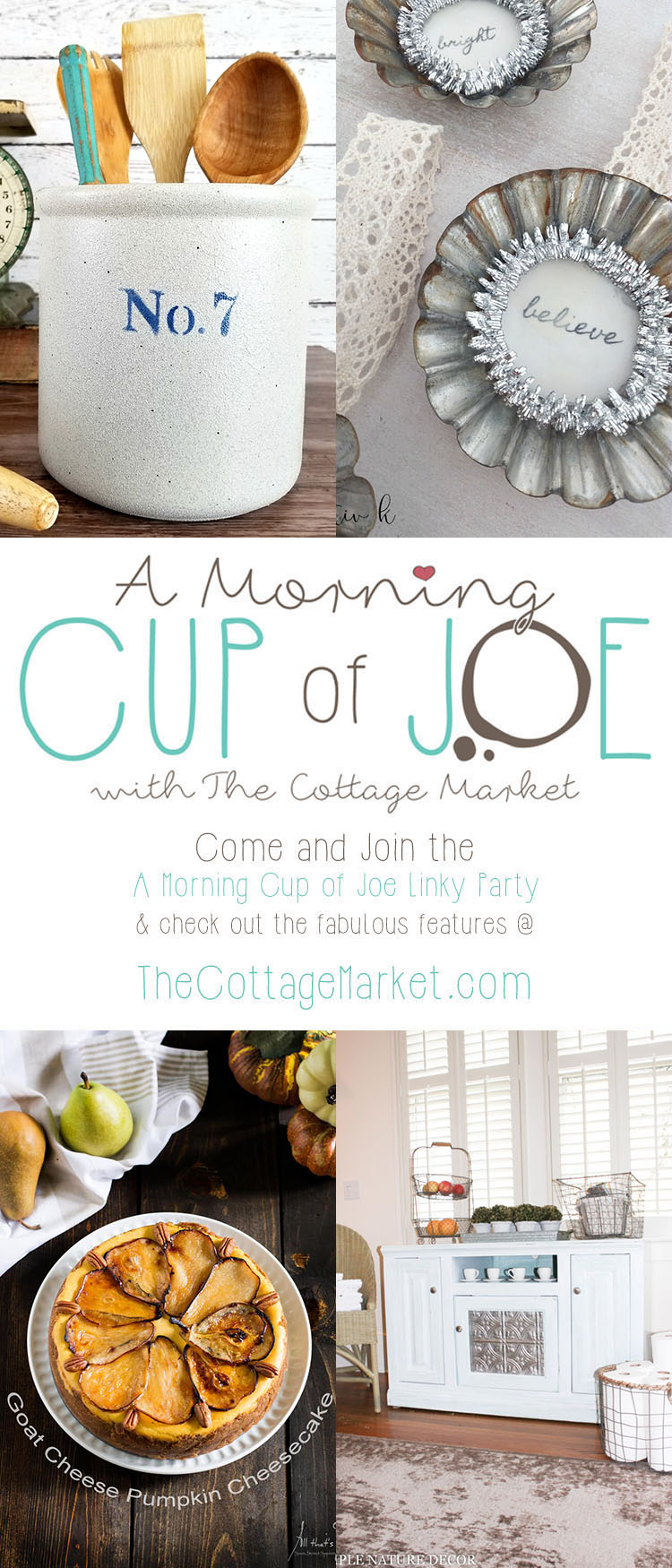 A Morning Cup of Joe /// Linky Party and Features