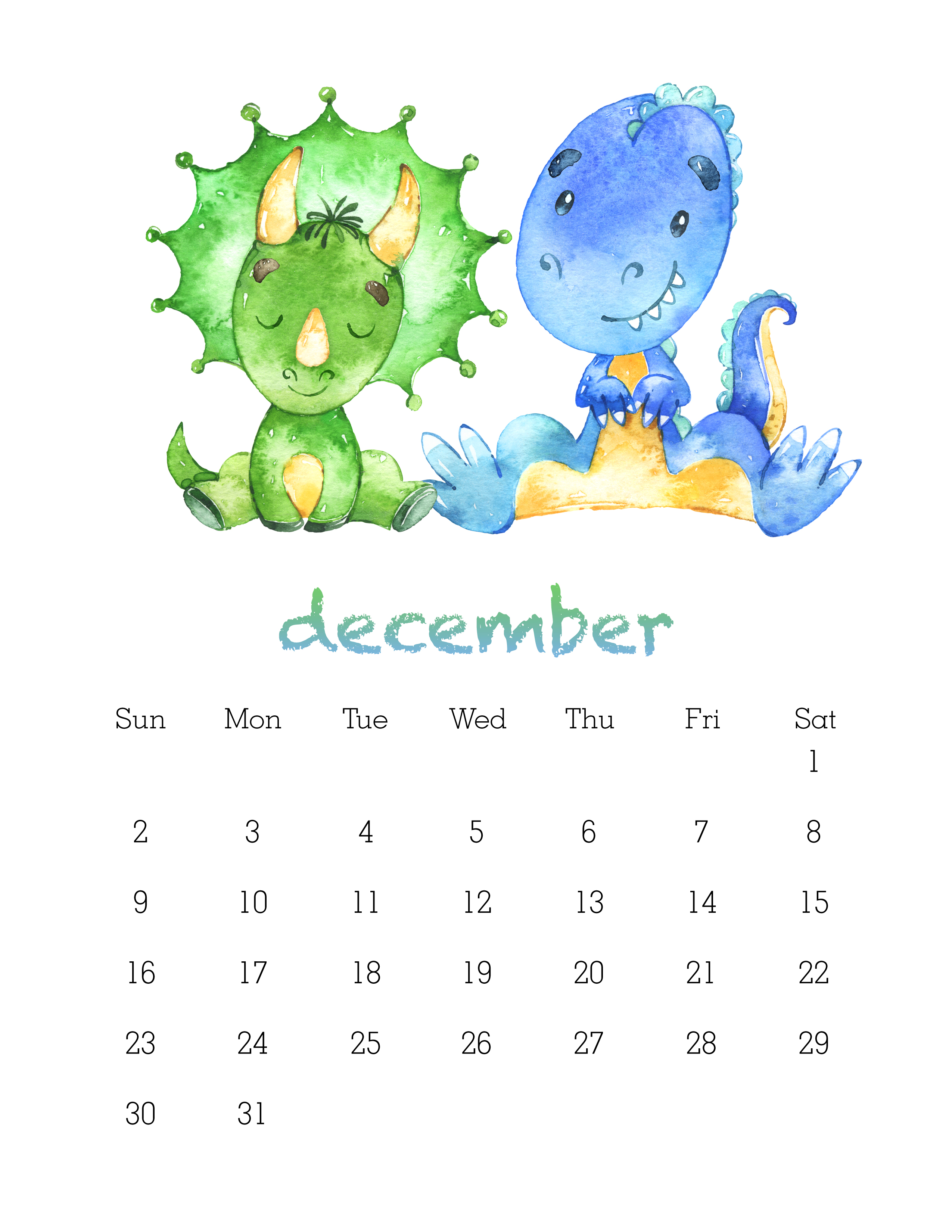 February 2017 Calendar Printable Cute
