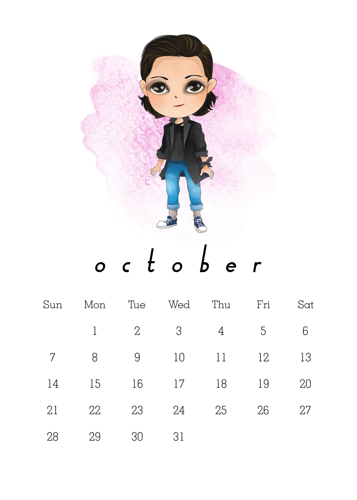 Free Printable 2018 Stranger Things Calendar - The Cottage ...