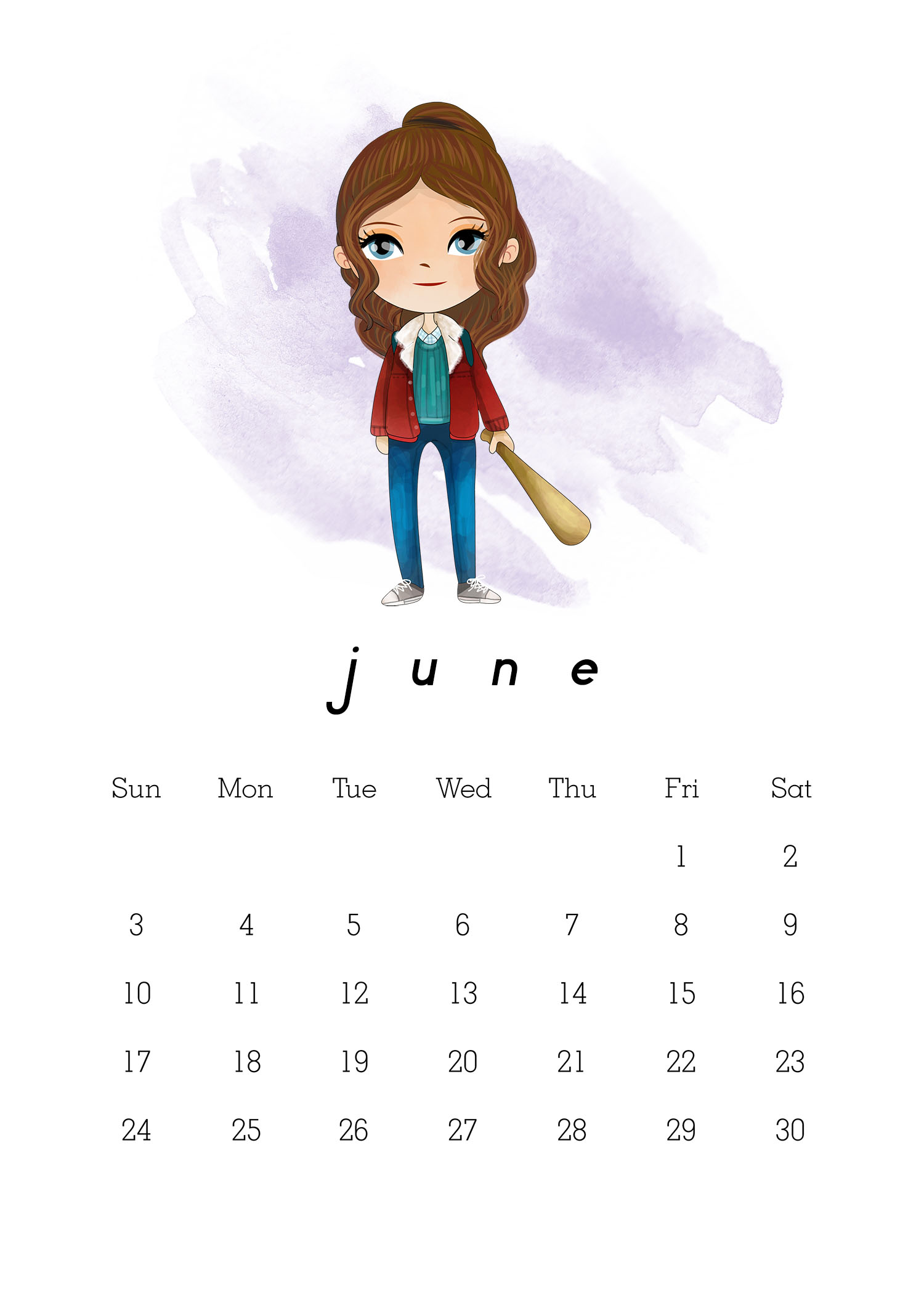 Free Printable 2018 Stranger Things Calendar - The Cottage ...