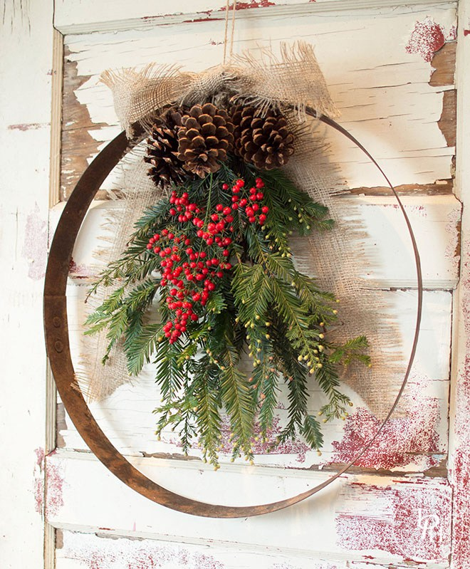 Perfect Diy Farmhouse Christmas Wreaths The Cottage Market