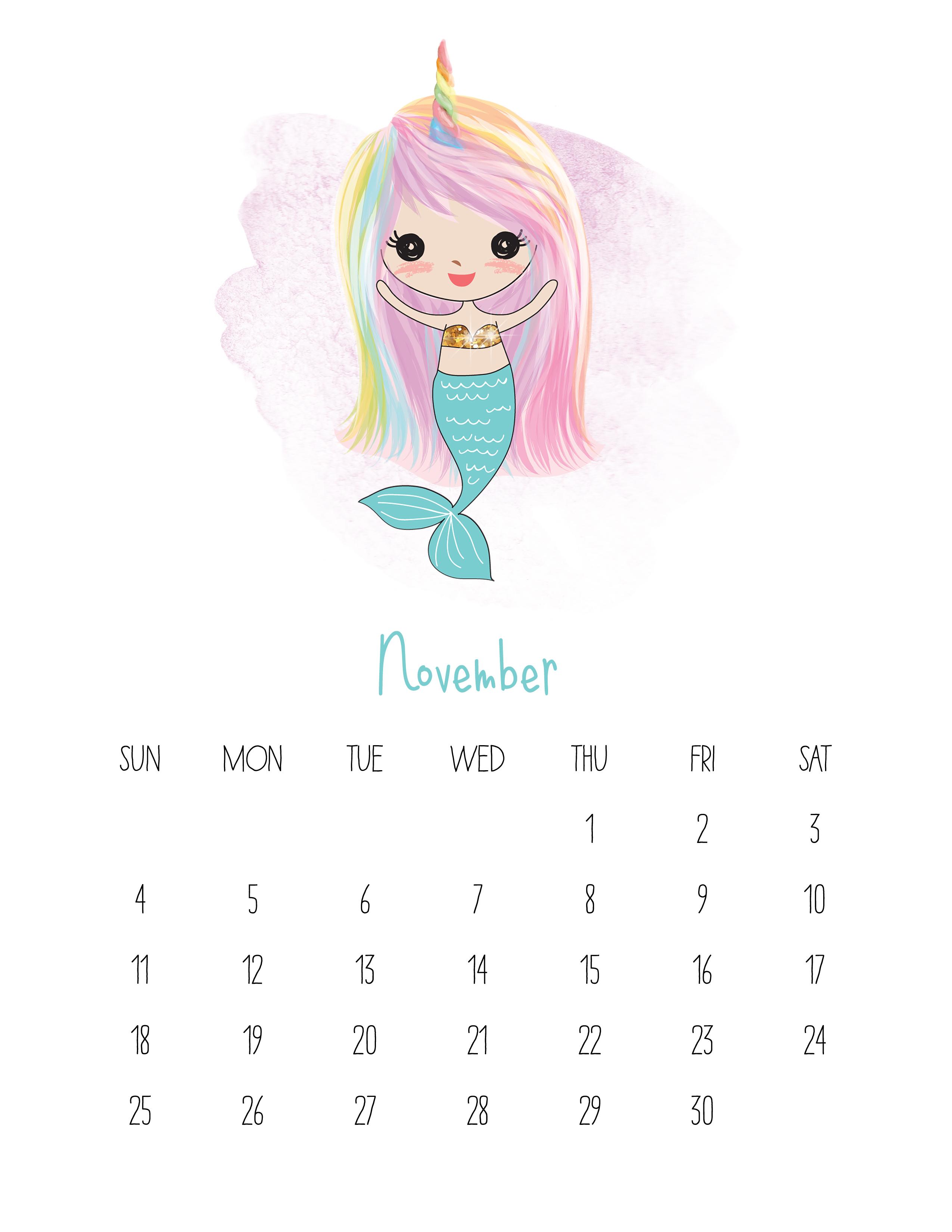 I Can Do It Kids Calendar
