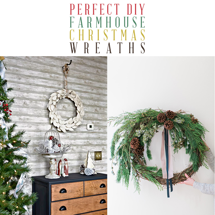 Perfect Diy Farmhouse Christmas Wreaths The Cottage Market