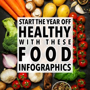 Start The Year Out Healthy With These Easy Food Infographics