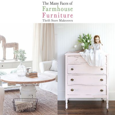 The Many Faces of Farmhouse Furniture Thrift Store Makeovers