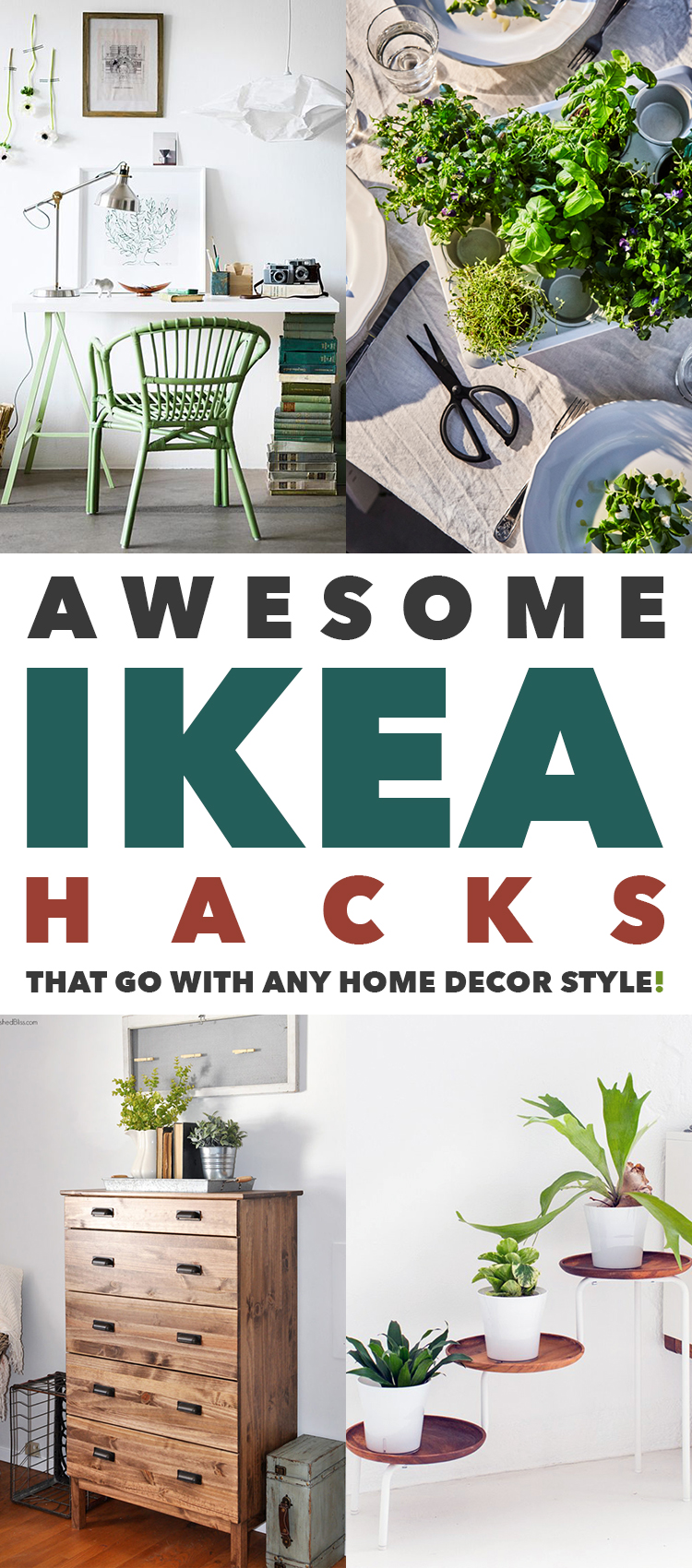Awesome IKEA Hacks That Go With ANY Home Decor Style - The