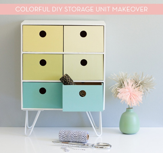 This colorful IKEA Moppe hack is a fun modern makeover