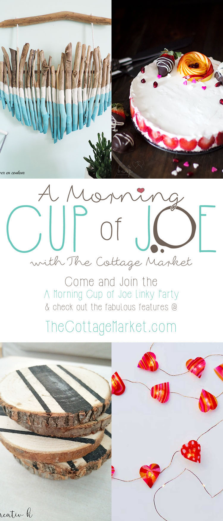 A Morning Cup of Joe // Linky Party and Features