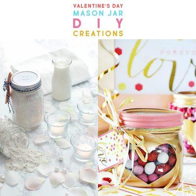 Valentine's Day Mason Jar DIY Creations